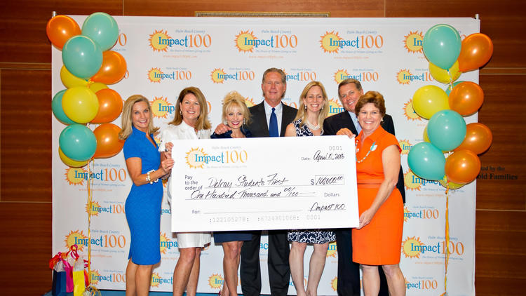 Impact 100 gives $100,000 to Delray Students First